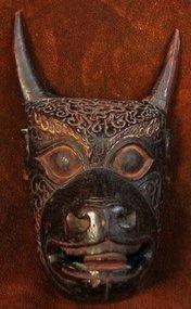Garuda Mask from Sherdukpen, Arunachal Pradesh