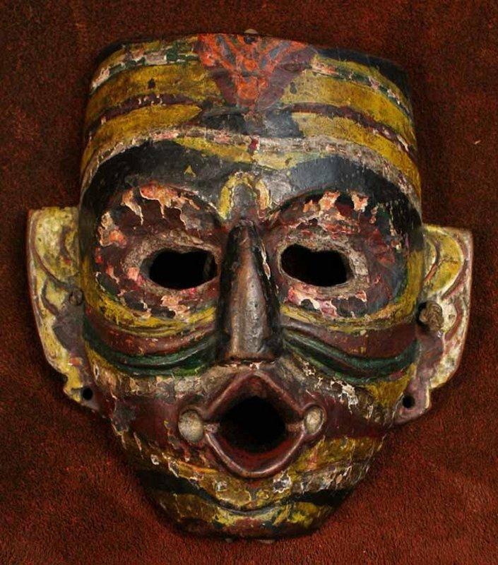 Kukpa Mask from Sherdukpen, Arunachal Pradesh