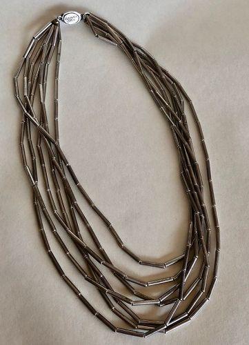 William Spratling Taxco c1940s Silver Necklace