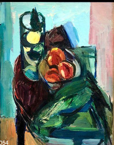 Manfred Schwartz Abstract Still Life