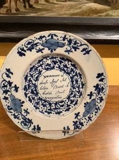 Dutch 18th Century Script Plate 9�