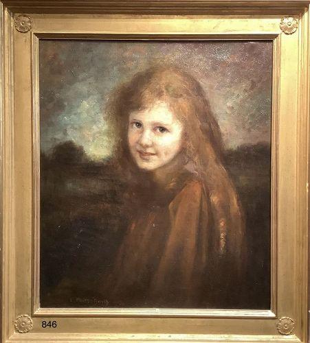 Portrait of Jenny by Elizabeth PUITTI-BARTH