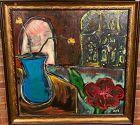 Anne Lane �Interior Still Life� oil on canvas