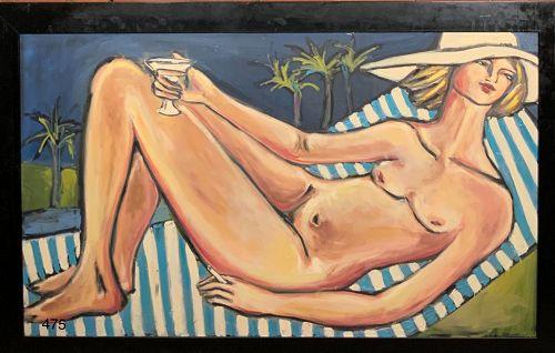 The Nude Beach by Anne Lane
