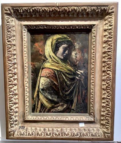 Portrait of a Woman Fresco Fragment