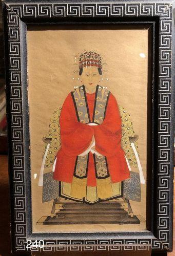 Female Chinese Ancestor Portrait