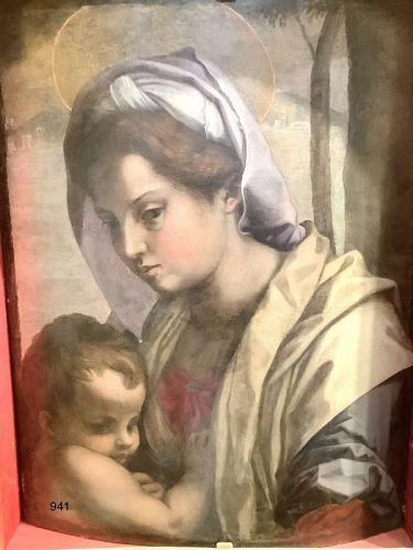 Madonna and Child attributed to Andrea del Sarto