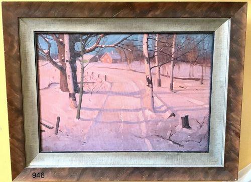 Winter Landscape by Svend Swednsen