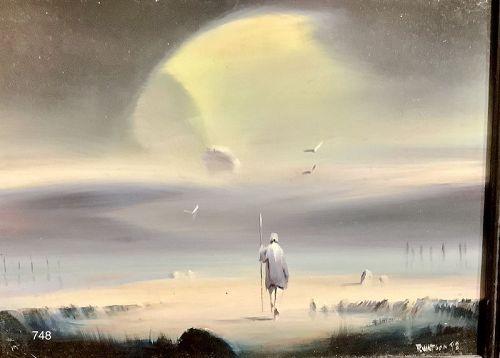 Surrealist Robert Watson Friend of Ray Bradbury �Searcher� series