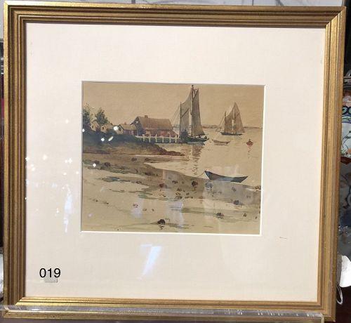 Romantic Nineteenth Century  Shorescape