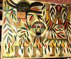 Abstract Figure Trio by Ephrem Kouakou