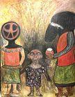 Abstract Figures by Ephrem Kouakou