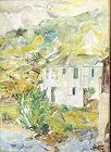 """Jamaican Artist Joe James """"Rio Bueno Studio"""" Oil 32x24 inches"""