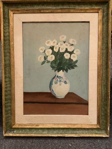 Italian Artist Mirani �Still Life with Flowers� nephew of Morandi
