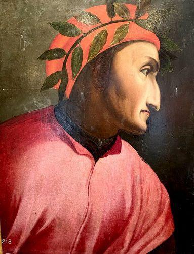 Sixteenth Century Study of Dante by Florence School
