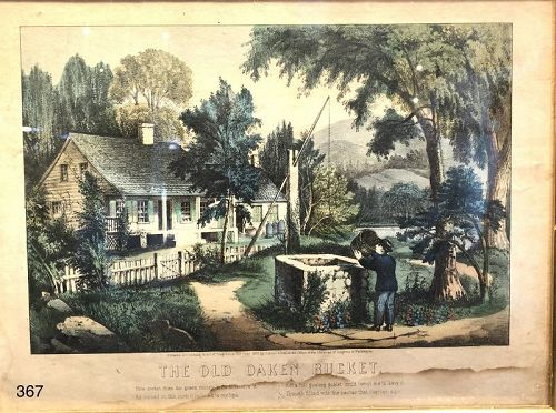 Currier and Ives Lithograph 1878