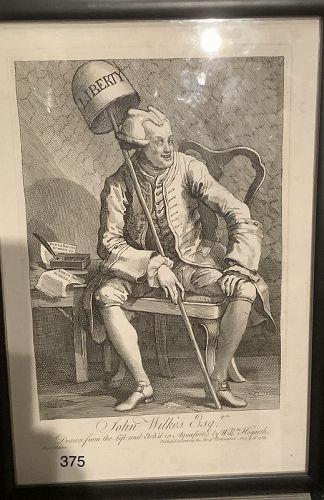 John Wilkes, Esq,. by William Hogarth