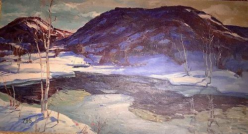The Last Snow by Jonas Lie 1923