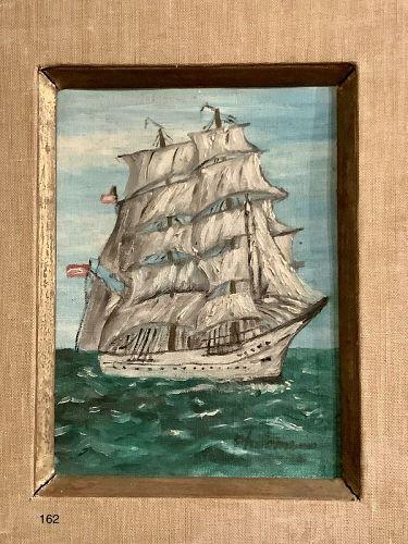 PHILOMENA 20th Century Marine Oil Painting14 x 11�