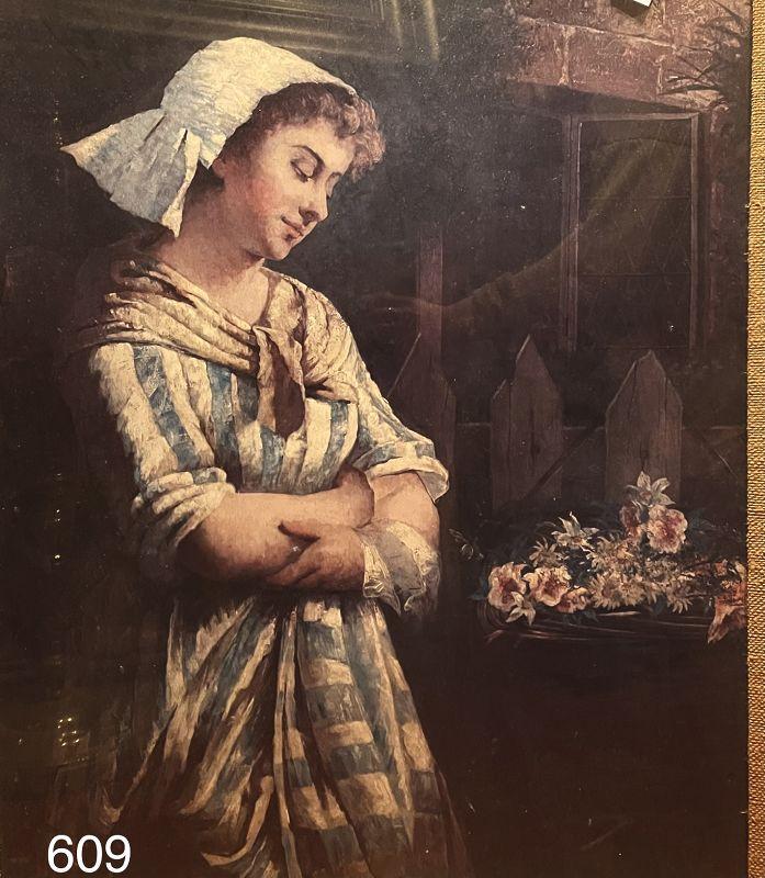 After Artist Anker nineteenth Century Print