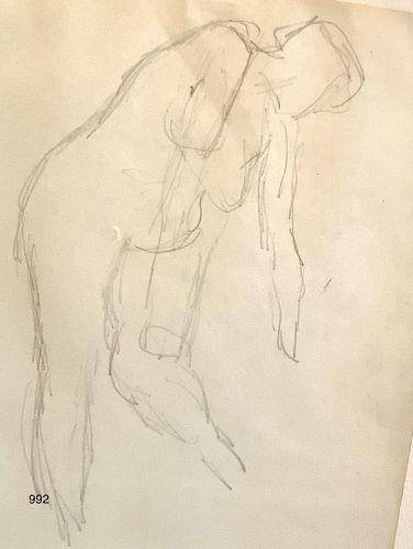 Arthur Beecher Carles American Master Artist ,Abstract Drawing 8x6�