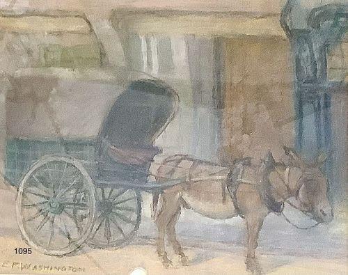 Elizabeth Fisher WASHINGTON 1871-1953 AMERICAN ARTIST Pastel