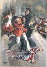 Frederick CoffayvYOHN 1875-1933 Spanish American war Watercolor