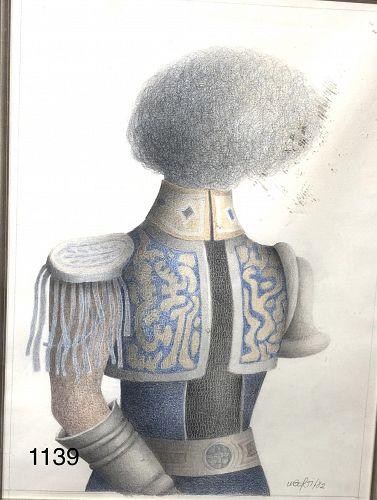 Chris Liberti American Abstract Artist 14x11�