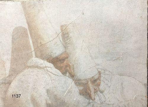 Carlo Rezzonico Fresco style oil on canvas