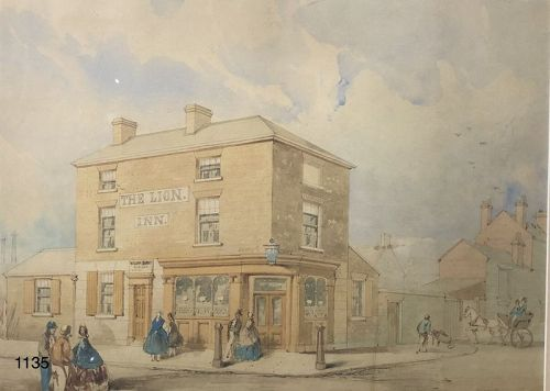 Unsigned Nineteenth Century Watercolor 16x20�
