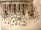 Joseph PENNELL St Paul London Etching 10x12�