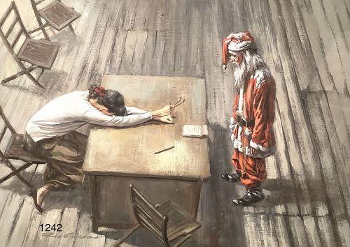 Zia Groszo Italian Artist Oil 25x31�