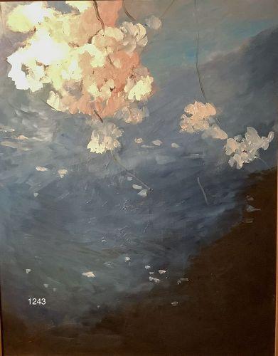 Paco Lane Master Artist �Cherry Blossom Time� Oil 30x24�
