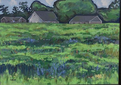 Master Artist Anne Lane Landscape Oil 36x48�