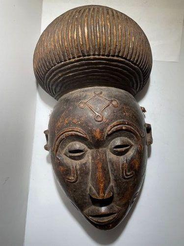 African Lwena Mask 1950