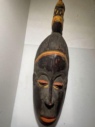 African Black Guro Mask 1970