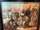 Karl Leopold Müller,German Artist  �The Old Souk Cairo� 37�x51�