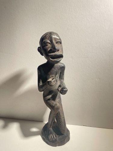 African Makonde Kneeling Figure 1900