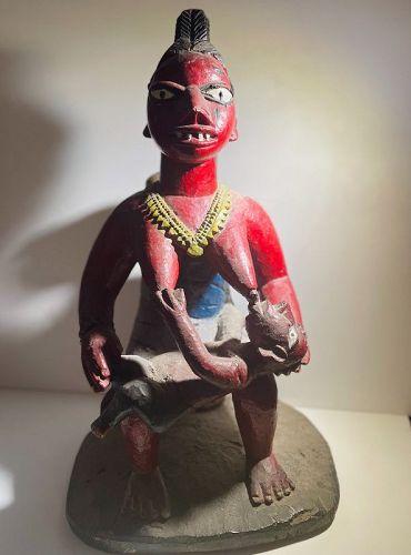 African Yoruba Maternity Figure