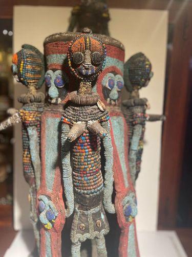 African Beaded Yoruba Fertility Figure