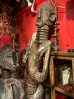African Dogon Large Figure with Scarification