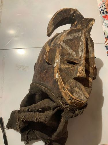 African Mossi Mask
