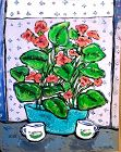 Anne Lane American Artist Important Floral Still Life in oil 30x24�