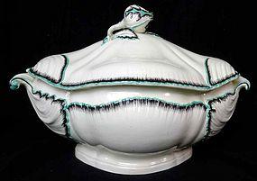 Spectacular Creamware Tureen  c1785