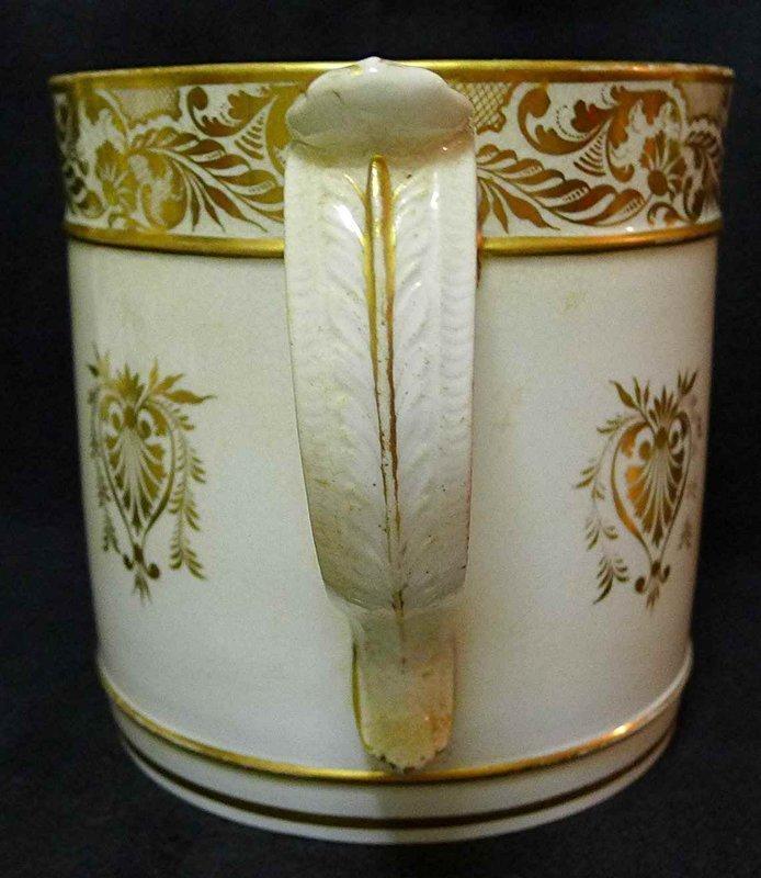 Superb Derby Porcelain Porter Mug c1810