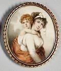 Nathaniel Plimer Miniature Portrait Painting, English c1800
