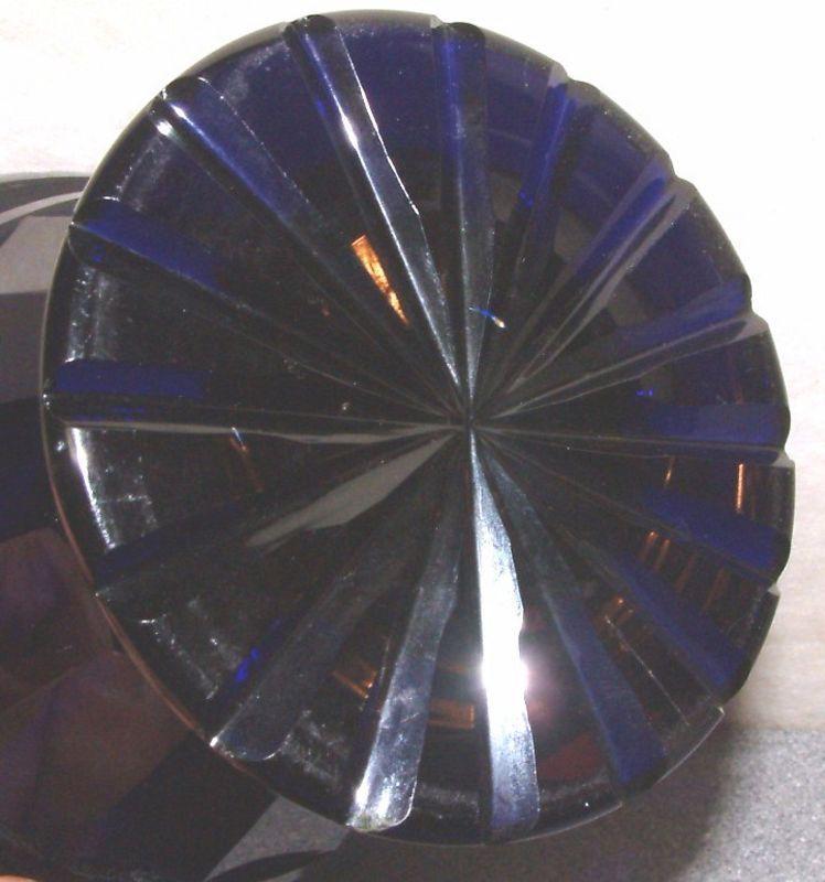 A Beautiful English Blue Glass Bowl c1815
