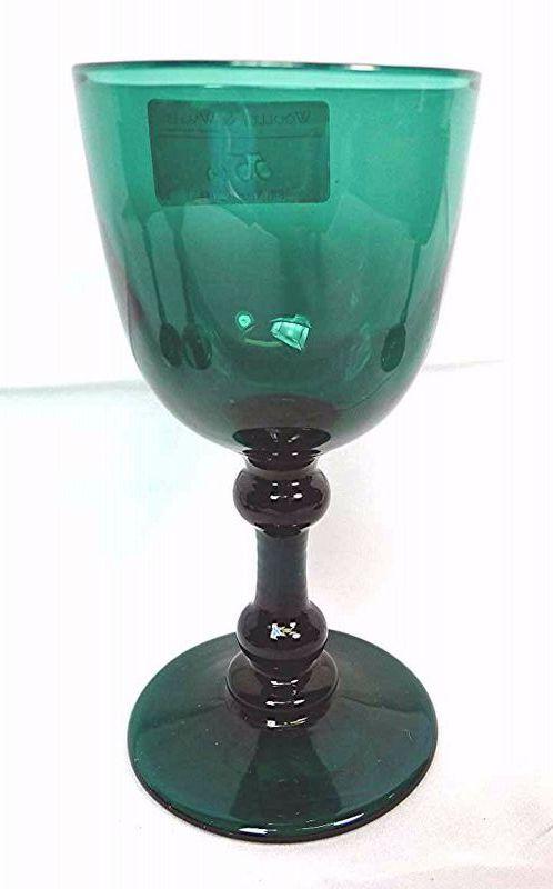 English Green Wine Glasses Set of 4  c1800