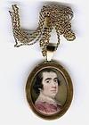 Ozias Humphry Portrait Miniature c1765 - 1770