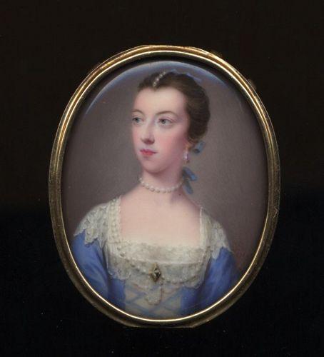 Gervase Spencer Portrait MIniature c1759